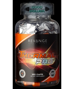 REVANGE HARDCORE THERMAL PRO V5 (120 капсул, 120 порций)