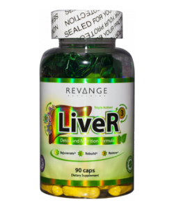 Revange Nutrition LiveR - Liver Detox & Recovery (90 капсул, 90 порций)