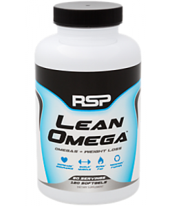 RSP Nutrition Lean Omega (120 капсул, 60 порций)