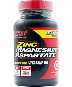 SAN Zinc Magnesium Aspartate (90 капсул)