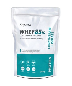 Saputo Whey Concentrate + Isolate 85% (2000 грамм, 66 порций)