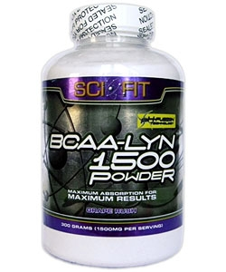 Sci-Fit BCAA-Lyn 1500 Powder (300 грамм, 200 порций)