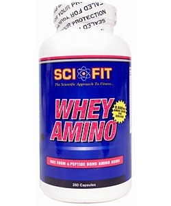 Sci-Fit Whey Amino (250 капсул)
