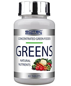 Scitec Essentials Greens (60 таблеток)