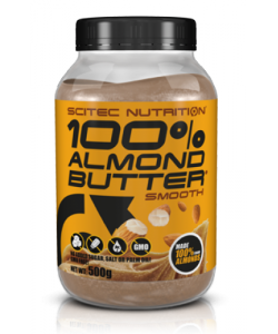 Scitec Nutrition 100% Almond Butter (500 грамм, 20 порций)