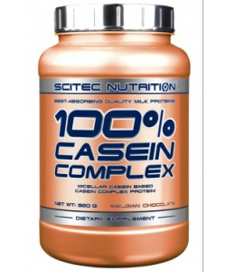 Scitec Nutrition 100% Casein Complex (920 грамм, 30 порций)