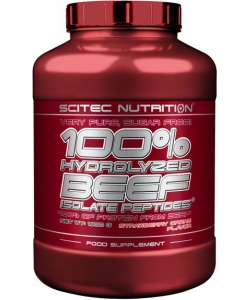 Scitec Nutrition 100% Hydrolyzed Beef Isolate Peptides (1800 грамм, 60 порций)