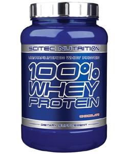 Scitec Nutrition 100% Whey Protein (920 грамм, 30 порций)