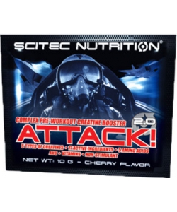 Scitec Nutrition Attack! 2.0 (10 грамм, 1 порция)