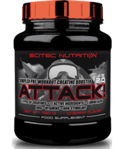 Scitec Nutrition Attack! 2.0 (720 грамм)