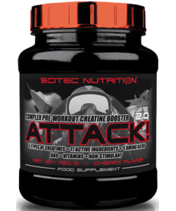 Scitec Nutrition Attack! 2.0 (320 грамм)