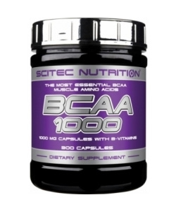 Scitec Nutrition BCAA 1000 (300 капсул, 150 порций)