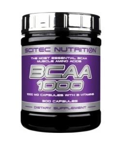 Scitec Nutrition BCAA 1000 (300 капсул, 150 порций)
