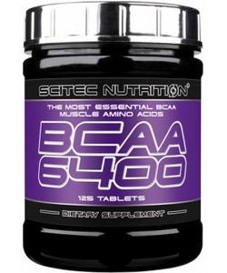 Scitec Nutrition BCAA 6400 (125 таблеток, 31 порция)