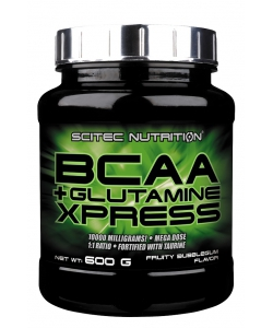 Scitec Nutrition BCAA + Glutamine Xpress (600 грамм, 50 порций)