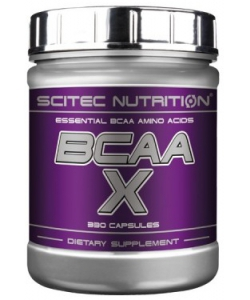 Scitec Nutrition BCAA X (330 капсул, 165 порций)
