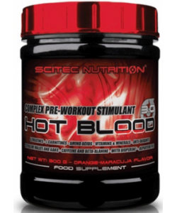 Scitec Nutrition Hot Blood 3.0 (300 грамм)