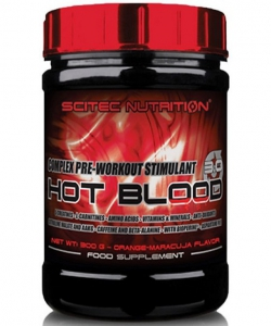 Scitec Nutrition Hot Blood 3.0 400 г (400 грамм, 20 порций)