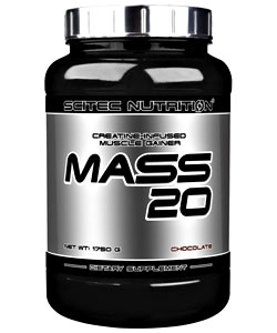 Scitec Nutrition Mass 20 (4080 грамм)