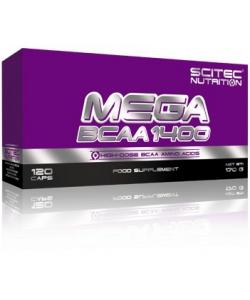 Scitec Nutrition MEGA BCAA 1400 (120 капсул, 60 порций)