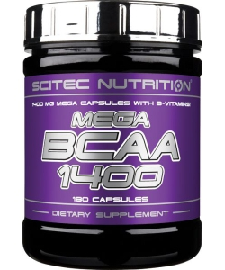 Scitec Nutrition Mega BCAA 1400 (180 капсул, 90 порций)