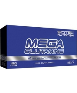 Scitec Nutrition Mega Glutamine (120 капсул, 60 порций)