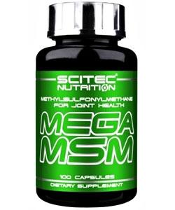 Scitec Nutrition Mega MSM (100 капсул, 50 порций)