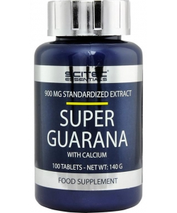 Scitec Nutrition Super Guarana with calcium (100 таблеток, 50 порций)