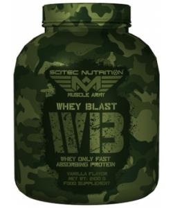 Scitec Nutrition Muscle Army Whey Blast (2100 грамм, 70 порций)
