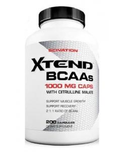 Scivation Xtend BCAA (200 капсул, 100 порций)