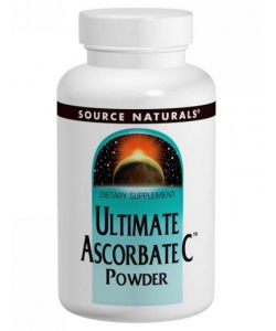 Source Naturals Ultimate Ascorbate C Powder (453 грамм, 255 порций)