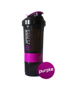 SpiderBottle 2Go black cup фиолетовый (500 мл)