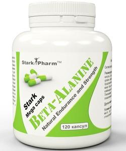 Stark Pharm Beta-Alanine (120 капсул, 120 порций)
