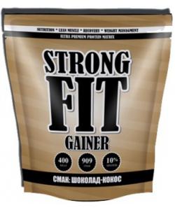 Strong FIT Gainer 10% (909 грамм, 22 порции)
