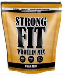 Strong FIT Protein MIX (909 грамм, 22 порции)