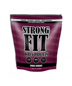 Strong Fit Whey Protein (со вкусом вишневого штруделя (909 грамм, 23 порции)
