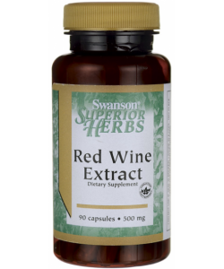 Swanson Red Wine Extract (90 капсул, 90 порций)