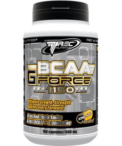 Trec Nutrition BCAA G-Force 1150 (180 капсул, 30 порций)