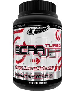 Trec Nutrition BCAA Turbo Jet (400 грамм, 40 порций)