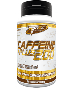 Trec Nutrition Caffeine Plus 200 (60 капсул, 60 порций)