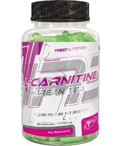 Trec Nutrition L-Carnitine + Green Tea (90 капсул)
