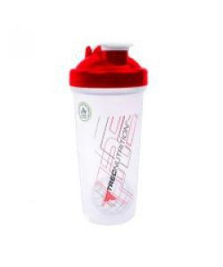TREC Nutrition Shaker With Metall Ball Red (600 мл)