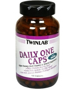 Twinlab Daily One Caps without Iron (180 капсул, 180 порций)