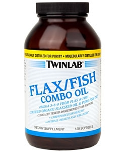 Twinlab Flax/Fish Combo Oil (120 капсул)