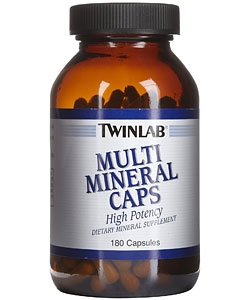 Twinlab Multi Mineral Caps (180 капсул)