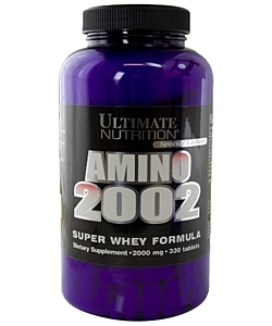 Ultimate Nutrition Amino 2002 (330 таблеток)