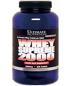 Ultimate Nutrition Amino Whey Supreme 2000 (300 таблеток)
