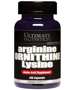 Ultimate Nutrition Arginine-Ornitine-Lysine (100 капсул)
