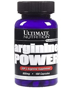Ultimate Nutrition Arginine Power (100 капсул)