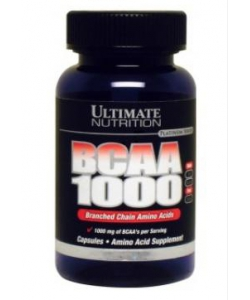 Ultimate Nutrition BCAA 1000 (60 капсул, 30 порций)